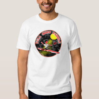 Paleta de la Luna Llena del kajak Playera