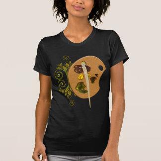 Paleta de los artistas camiseta