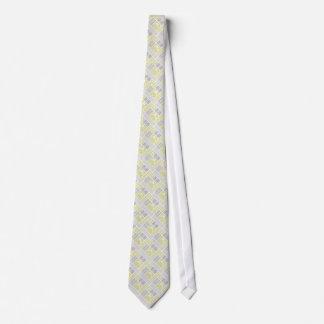 Paleta de tiempo amarilla y gris náutica de los corbatas
