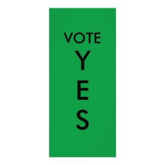 Paleta de votación SÍ Lonas Publicitarias