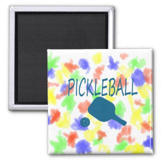 paleta del pickleball w y trullo de la bola imanes
