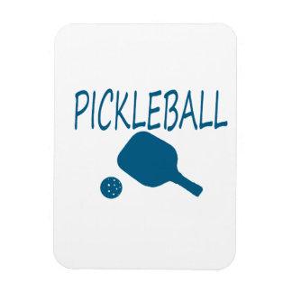 paleta del pickleball w y trullo de la bola iman