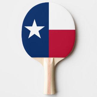 Paleta del ping-pong de la bandera de Tejas para l Pala De Ping Pong