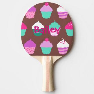 Paleta del ping-pong de las magdalenas pala de tenis de mesa