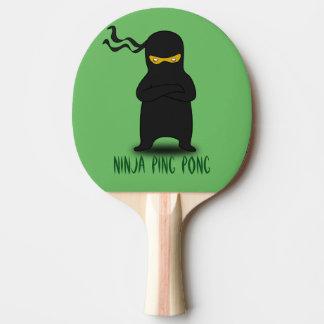 Paleta del ping-pong de Ninja Pala De Ping Pong