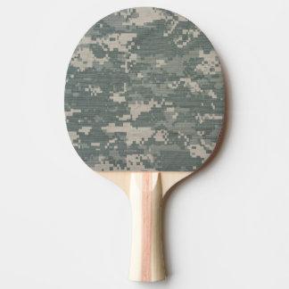 Paleta del ping-pong del camafeo, parte posterior pala de tenis de mesa