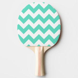 Paleta del ping-pong del galón de la verde menta pala de tenis de mesa