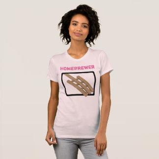Paleta del puré de las mujeres - Homebrewer Camisas