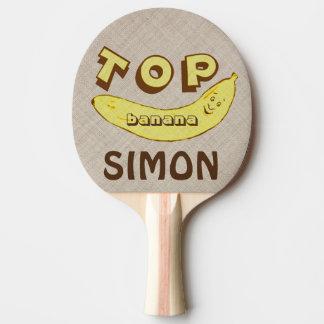 Paleta divertida de encargo del ping-pong del pala de ping pong