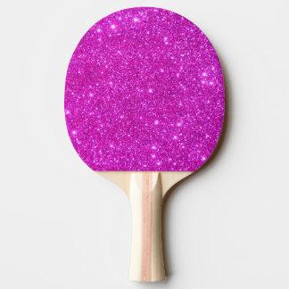 Paleta femenina 3 del ping-pong del brillo pala de tenis de mesa