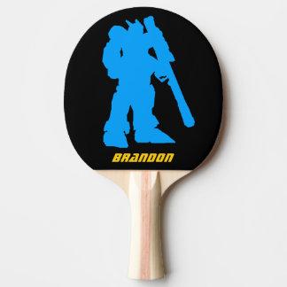 Paleta gigante del ping-pong de Manga del guerrero Pala De Tenis De Mesa