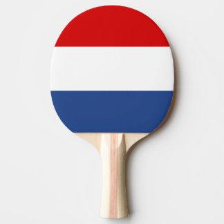 Paleta holandesa del ping-pong de la bandera para  pala de tenis de mesa