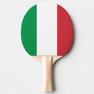 Paleta italiana del ping-pong de la bandera para pala de tenis de mesa