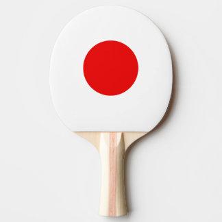 Paleta japonesa del ping-pong de la bandera para l pala de ping pong