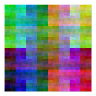 Paleta mezclada (tirón) poster