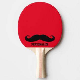 Paleta negra divertida del ping-pong de los tenis pala de ping pong