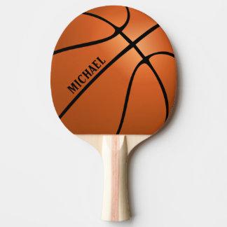 Paleta personalizada del ping-pong del baloncesto pala de ping pong