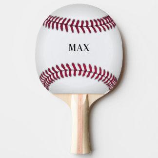 Paleta personalizada del ping-pong del béisbol pala de ping pong