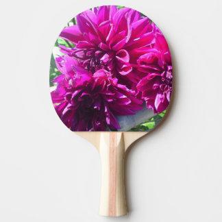 Paleta púrpura del ping-pong de la flor de la pala de ping pong