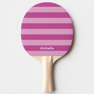 Paleta púrpura personalizada del ping-pong de los pala de ping pong