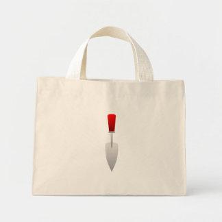 Paleta que cultiva un huerto bolsa de mano