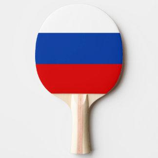 Paleta rusa del ping-pong de la bandera para los t pala de ping pong