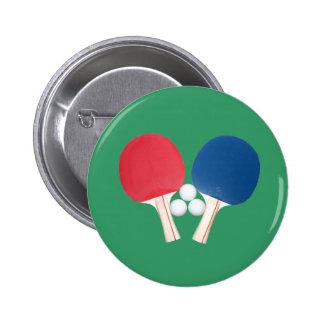 Paletas y bolas del ping-pong pin redondo 5 cm