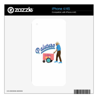 Paletero Decals For iPhone 4