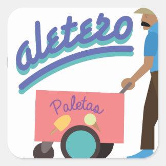 Paletero Square Sticker