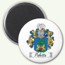 Paletta Family Crest Magnet