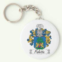 Paletta Family Crest Keychain