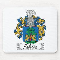 Paletta Family Crest Mousepad