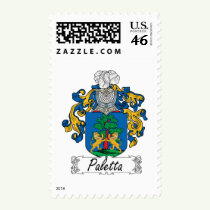 Paletta Family Crest Stamps