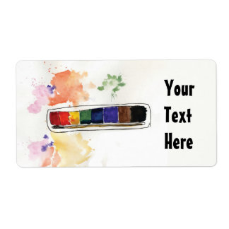 Palette Personalized Shipping Labels