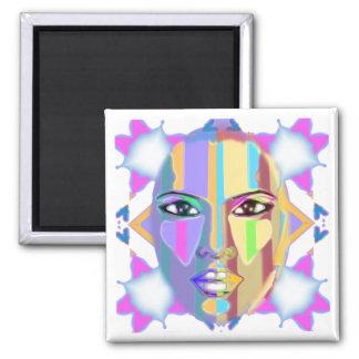 palette  of emotions fridge magnet
