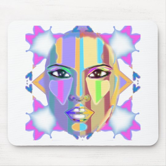 palette  of emotions mouse pad