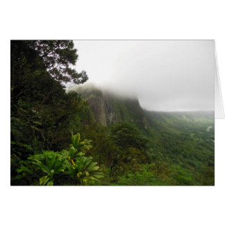 Pali Lookout Card