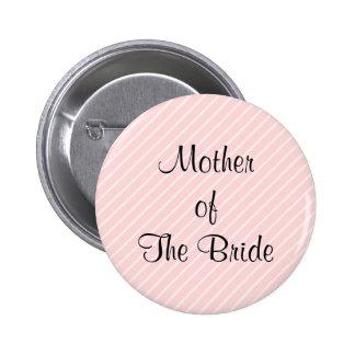 Palidezca - casarse diagonal rosado de las rayas pin