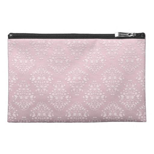 Palidezca - el damasco rosado y blanco del estilo