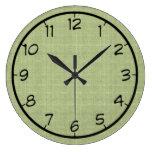 Palidezca - el falso reloj verde de la lona