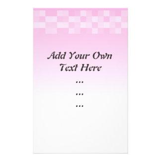 """Palidezca - el modelo de las casillas blancas rosa folleto 5.5"""" x 8.5"""""""