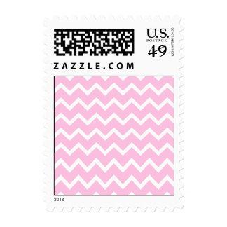 Palidezca - el modelo de zigzag rosado y blanco
