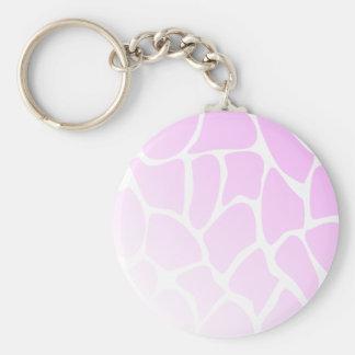 Palidezca - el modelo rosado llaveros personalizados