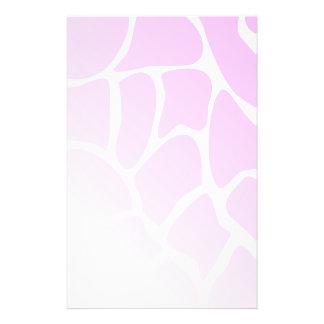 Palidezca - el modelo rosado tarjetas informativas