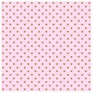 Palidezca - el modelo rosado y marrón del corazón pin fotoescultura