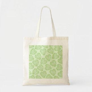 Palidezca - el modelo verde de la hoja bolsas