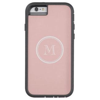 Palidezca - el monograma coloreado parte alta funda de iPhone 6 tough xtreme