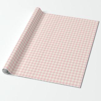 Palidezca - el papel de embalaje rosado de la papel de regalo