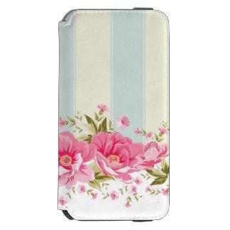 palidezca - la moda rosada, amarilla, lamentable, funda billetera para iPhone 6 watson