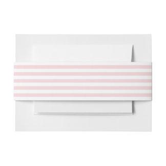 Palidezca - la raya rosada cintas para invitaciones